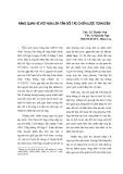 """Báo cáo """"Nâng quan hệ Việt – Nga lên tầm đối tác chiến lược toàn diện """""""
