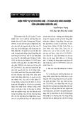"""Báo cáo """"Thanh toán biên mậu Việt – Lào: thực trạng và những vấn đề đặt ra """""""