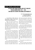 """Báo cáo """"Về cuộc đấu tranh chống phát xít ở châu Âu trong những năm 1939-1945 qua một số tờ báo cách mạng của Trung Kỳ """""""