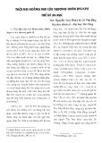 """Báo cáo """"Thời đại hoàng kim của thương nhân Ryukyu thế kỷ XV – XVII. """""""