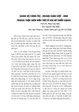 """Báo cáo """"Quan hệ chính trị - ngoại giao Việt – Anh trong thập niên đầu thế kỷ XXI và triển vọng """""""