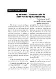 """Báo cáo """"  SỰ MỞ RỘNG LIÊN MINH CHÂU ÂU NHÌN TỪ GÓC ĐỘ ĐỊA CHÍNH TRỊ"""""""