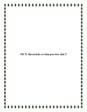 OS X Mavericks có bản preview thứ 3