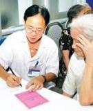 Ngừa chóng mặt, chặn các sự cố ở người già