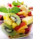 Không ăn hoa quả ngay sau bữa ăn chính