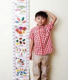 Dinh dưỡng giúp trẻ thông minh và cao lớn