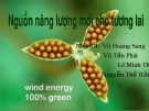 Nguồn năng lượng mới cho tương lai