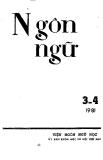 Vài nhận xét về đặc điểm ngữ pháp của các từ phụ cho động từ trong tiếng Việt qua một số văn bản thế kỷ XVII của giáo hội Thiên Chúa