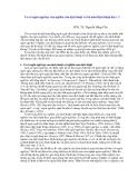 """Báo cáo """"Cơ sở ngôn ngữ của nghiên cứu dịch thuật và bộ môn dịch thuât học """""""