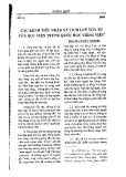 """Báo cáo """"Các kênh tiếp nhận và tích lũy vốn từ của học viện Trung Quốc học Tiếng Việt """""""