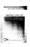 """Báo cáo """" Xem xét các từ ghép gốc Hán trong tiếng Mông Lềnh ở Việt Nam"""""""