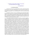 """Báo cáo """" Lý thuyết làn sóng trong nghiên cứu ngôn ngữ và văn hoá Thăng Long - Hà Nội"""""""