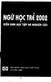"""Báo cáo """" Khảo sát ngữ nghĩa ngữ dụng của hai từ """"vừa"""" và """"mới"""" trong tiếng Việt hiện đại"""""""