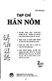 """Báo cáo """"Vấn đề quốc ngữ hoá hệ thống phụ âm đầu trong các địa danh ở Việt Nam có nguồn gốc từ tiếng Hán Quan thoại Tây Nam Trung Quốc """""""