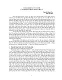 """Báo cáo """"DẠNG BỊ ĐỘNG VÀ VẤN ĐỀ CÂU BỊ ĐỘNG TRONG TIẾNG VIỆT (1) """""""