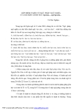 """Báo cáo """" GÓP THÊM Ý KIẾN VỀ NGỮ PHÁP, NGỮ NGHĨA CỦA HAI KIỂU DANH NGỮ: hạt dưa..., một hạt dưa..."""""""