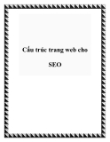 Cấu trúc trang web cho SEO