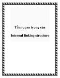 Tầm quan trọng của Internal linking structure