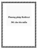 Phương pháp Redirect 301 cho tên miền