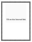 Tối ưu hóa Internal link