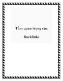 Tầm quan trọng của Backlinks