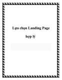 Lựa chọn Landing Page hợp lý