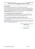 Hướng dẫn giải bài tập Nhập môn Lập trình - Hoàng Văn Hậu