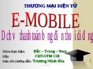 Dịch vụ thanh toán bằng điện thoại di động