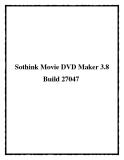 Sothink Movie DVD Maker 3.8 Build 27047