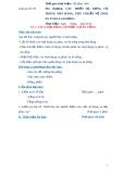 Giáo án số 9 - Bài 2 Các loại dụng cụ phục vụ ăn uống