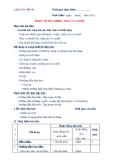 GIÁO ÁN THỰC HÀNH SỐ 9 - PHỤC VỤ BIA, RƯỢU, TRÀ VÀ CÀ PHÊ