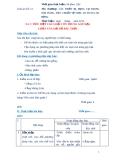 Giáo án số 12 - Bài 5: TIÊU DIỆT CÁC LOẠI CÔN TRÙNG GÂY HẠI,  CHỨA VÀ LOẠI BỎ RÁC THẢI