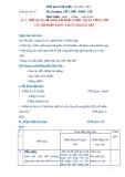 Giáo án số 7 - Bài 4: MỐI QUAN HỆ GIỮA BỘ PHẬN PHỤC VỤ ĂN UỐNG VỚI CÁC BỘ PHẬN KHÁC TRONG KHÁCH SẠN