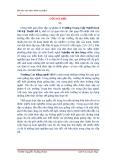 """Bài báo cáo thực hành sư phạm """" phương pháp dạy các môn thuộc nghề Nghiệp vụ nhà hàng  """""""