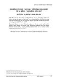 """Báo cáo """"  NGHIÊN CỨU CHẾ TẠO CHẤT KẾT DÍNH CHỊU NHIỆT TỪ XI MĂNG POOCLĂNG HỖN HỢP"""""""