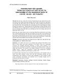 """Báo cáo """" PHƯƠNG PHÁP TIẾP CẬN MỚI TRONG QUY HOẠCH VÀ THIẾT KẾ ĐÔ THỊ KINH NGHIỆM TỪ CÁC WORKSHOP QUỐC TẾ CHỦ ĐỀ """"HÀ NỘI – ĐÔ THỊ NƯỚC"""" """""""