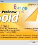 Hướng dẫn sử dụng proshow gold tạo slideshow ảnh