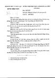 Đề thi  học sinh giỏi  THPT môn Sử 12