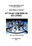 Giáo trình Kỹ thuật cảm biến và đo lường điện - Trần Văn Hùng