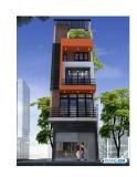 Thiết kế xây nhà 5 tầng trên diện tích nhỏ