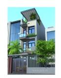 Thiết kế xây nhà 3 tầng hướng Đông Nam