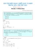 15 bài toán điện xoay chiều hay khó trong mùa thi thử 2013