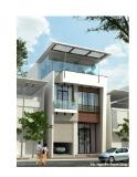 Thiết kế biệt thự 2,5 tầng theo phong cách hiện đại