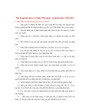 Nội dung thi môn Lý luận Nhà nước và pháp luật