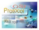 OSI Protocol - Giáo trình kết nối mạng