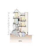 Thiết kế nhà có tầng hầm, diện tích 6m x 20m
