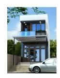 Thiết kế nhà hiện đại trên diện tích 45m2