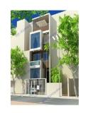 Thiết kế nhà 4 tầng trên diện tích 6,2m x 13,5m