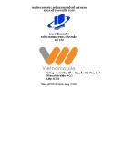 Tiểu luận: Phân tích chiến lược marketing chiêu thị của vietnamobile