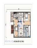 Thiết kế nhà phố diện tích 8,5 x 18m